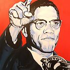 Malcolm X by thepurposemaker