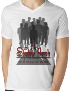 The Shadow People Mens V-Neck T-Shirt