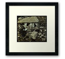 oro se do bheatha `bhaile Framed Print