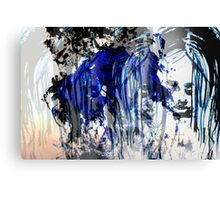 The Blue Moves Canvas Print