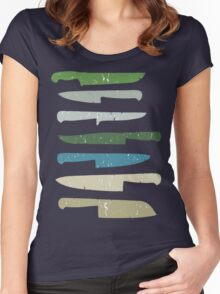 Chef's knives Women's Fitted Scoop T-Shirt