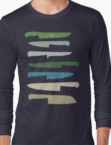 Chef's knives Long Sleeve T-Shirt
