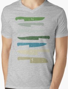 Chef's knives Mens V-Neck T-Shirt