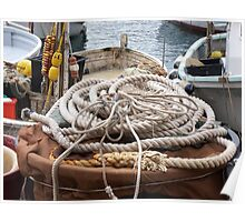 THE ROPES AND GROUND BAIT.....  Camogli - Italy -1700 visualizzaz. a gennaio 2013 --- RB EXPLORE VETRINA 21 APRILE 2012 - Poster