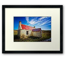 The Old Croft House Framed Print