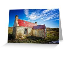 The Old Croft House Greeting Card