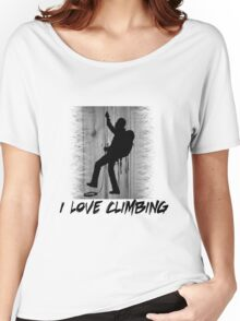 I Love Climbing Women's Relaxed Fit T-Shirt