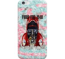 Ford For 1940 iPhone Case/Skin