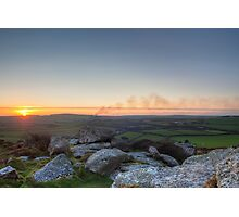 My Landscape is on fire! Photographic Print