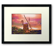 Cley Windmill Norfolk Framed Print