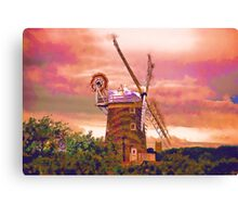 Cley Windmill Norfolk Canvas Print