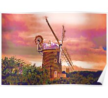Cley Windmill Norfolk Poster