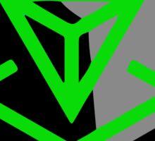 Resistance Is Futile Ingress Enlightened Design Sticker
