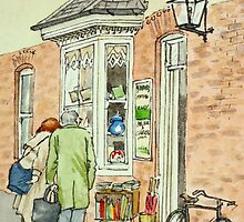 Antique Shop - Birmingham by Lynne  M Kirby BA(Hons)