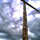 Wooden cross by Alexandros L.