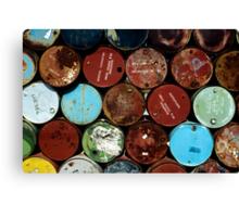 Australia - Oil Barrels Canvas Print
