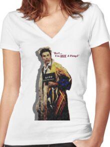 Kramer Pimp'n Women's Fitted V-Neck T-Shirt