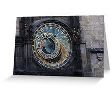 Astro Clock Greeting Card