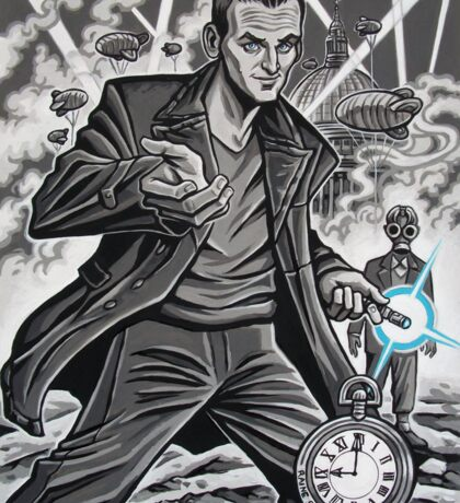 The Ninth Doctor Sticker