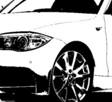 BMW 1 Series Coupe 2012 Sticker