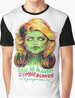 Zombie Blondie Graphic T-Shirt
