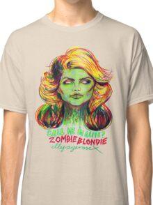Zombie Blondie Classic T-Shirt
