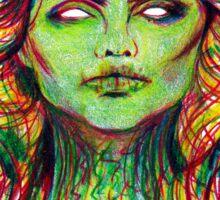 Zombie Blondie Sticker