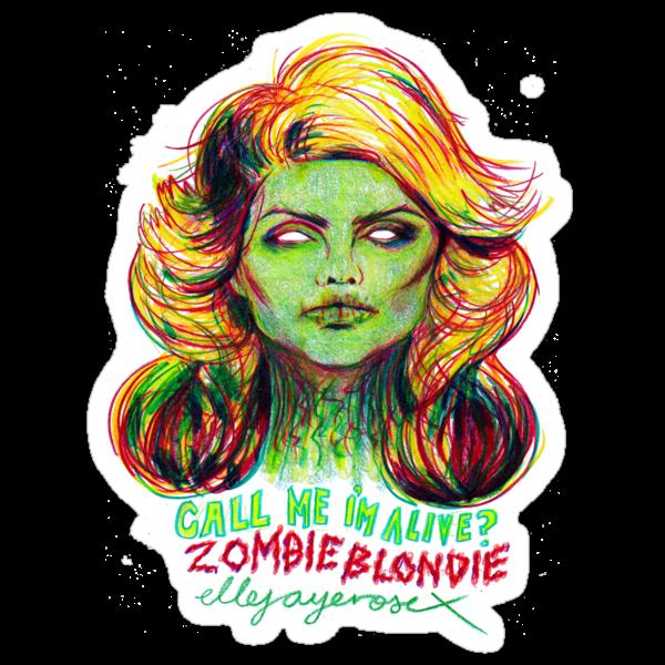 Zombie Blondie by ellejayerose