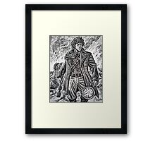 """Young War Doctor/ """"Doctor No More"""" Framed Print"""