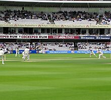 Cricket at Lord's by WoodenDuke