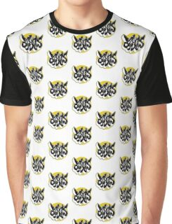 Graf Circle Yellow Graphic T-Shirt