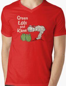 Green Eggs and Kane Mens V-Neck T-Shirt