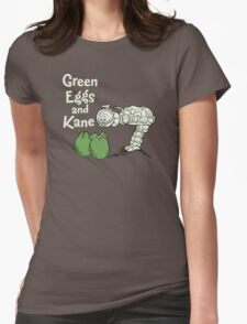 Green Eggs and Kane Womens Fitted T-Shirt