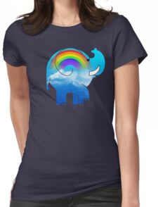 ELLE RAINBOW Womens Fitted T-Shirt