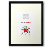 Heal Japan #1 Framed Print