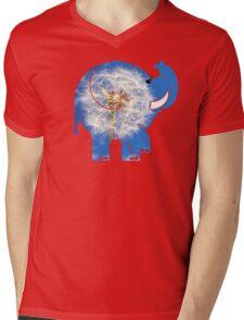 ELLE DANDYLION Mens V-Neck T-Shirt