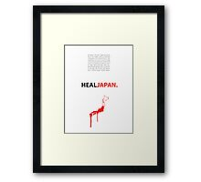 Heal Japan #2 Framed Print