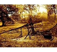 1890s Collins Cultivator II Photographic Print