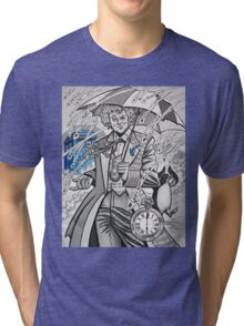 The Sixth Doctor Tri-blend T-Shirt