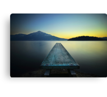Off The Deep End Canvas Print