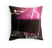 Artyficial Light #1 Throw Pillow