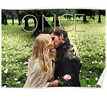 Captain Swan Camelot Garden Digital Watercolor Design 2 Poster