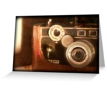 Vintage Camera - Argus C3 Greeting Card