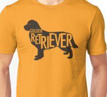 Golden Retriever Silhouette Unisex T-Shirt