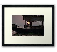 Kettuvallam At Sundown Framed Print