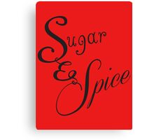 Sugar and Spice II Canvas Print