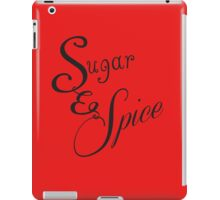 Sugar and Spice II iPad Case/Skin