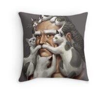catstachestic? Throw Pillow