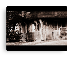 Fairytale cottage Canvas Print