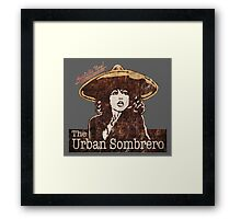 The Urban Sombrero Framed Print